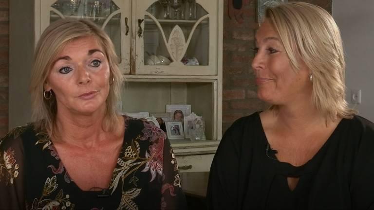 Jolande van Lith en Barbara van Roo uit Den Bosch in Steenrijk Straatarm