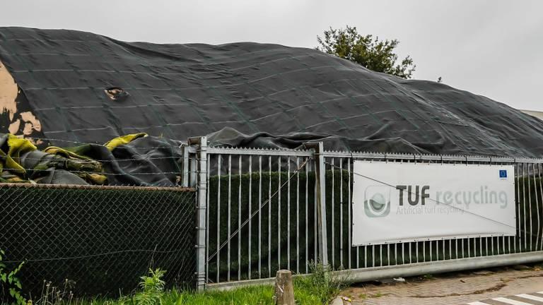 Kunstgras bij TUF in Dongen (foto: SQ Vision Mediaprodukties).