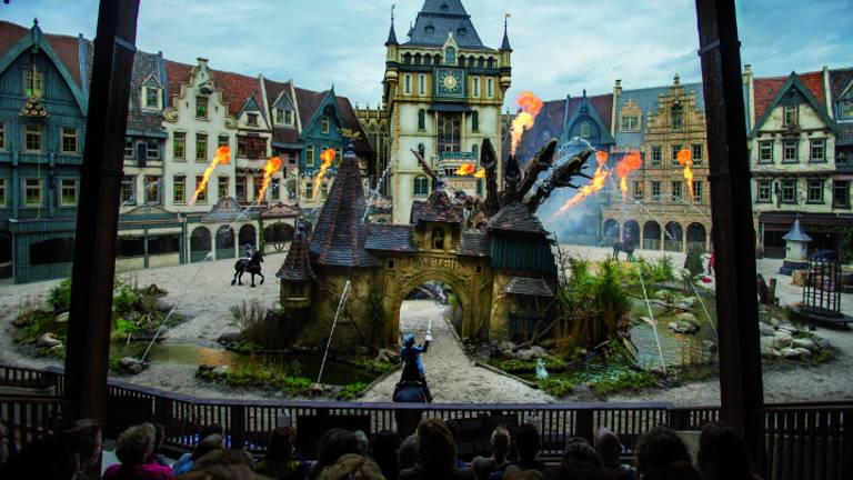 De voorstelling Raveleijn. (Foto: Efteling)