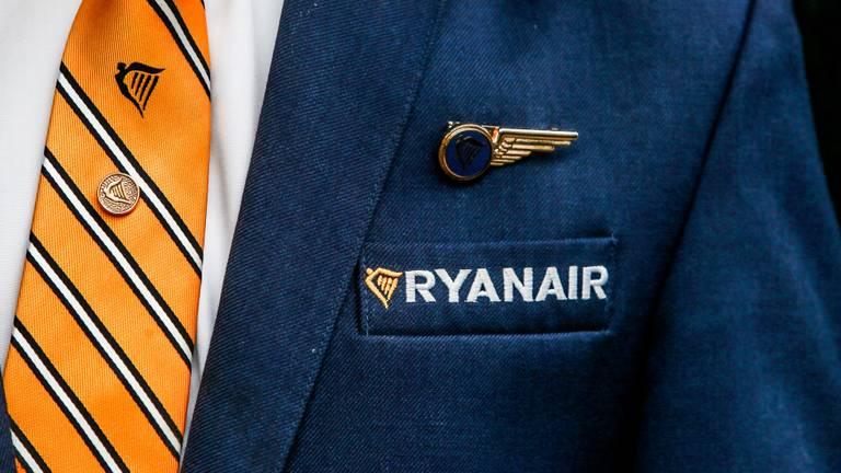 Piloten van Ryanair zitten nu thuis.