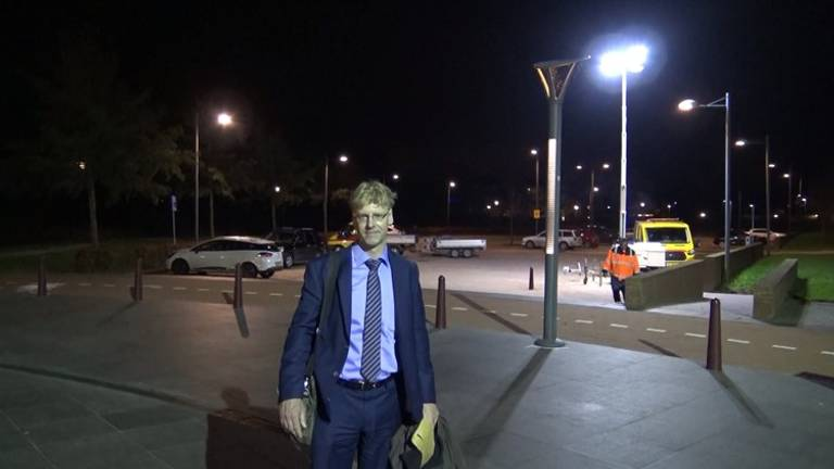 Wethouder Vincent van den Bosch in de video van vlogger Hornicek