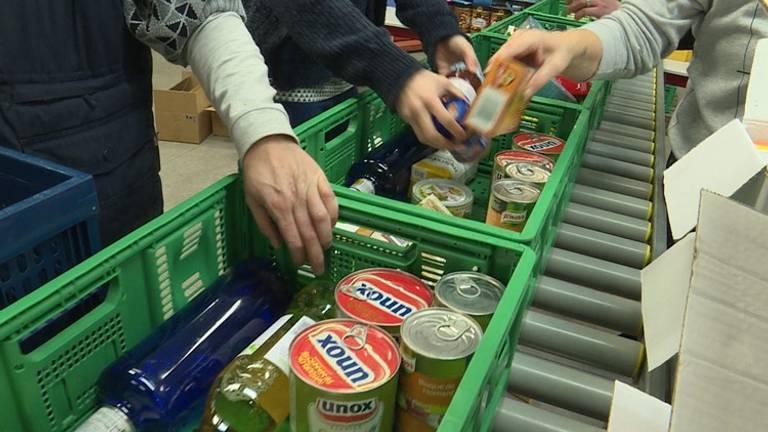 Een gulle gever doneerde duizend euro aan de Voedselbank.
