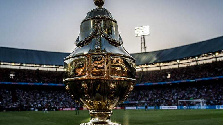 De KNVB-beker (foto: VI Images).
