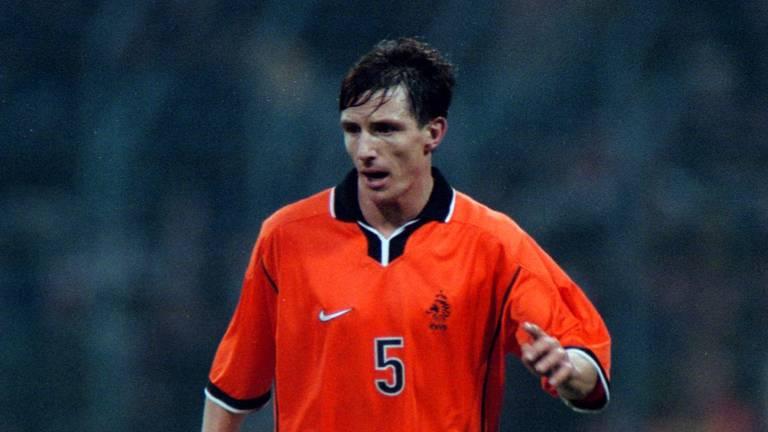 Marc van Hintum bij zijn debuut voor het Nederlands elftal (foto: VI Images).