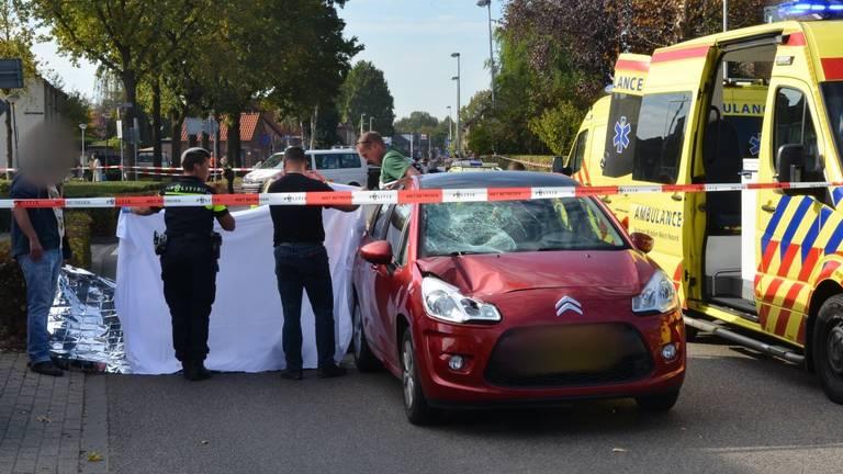 Vrouw zwaargewond bij ongeluk in Etten-Leur. Foto: Perry Roovers / SQ Vision