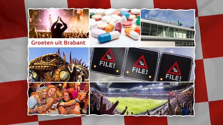 Brabant is heel divers voor de buitenlandse toerist.