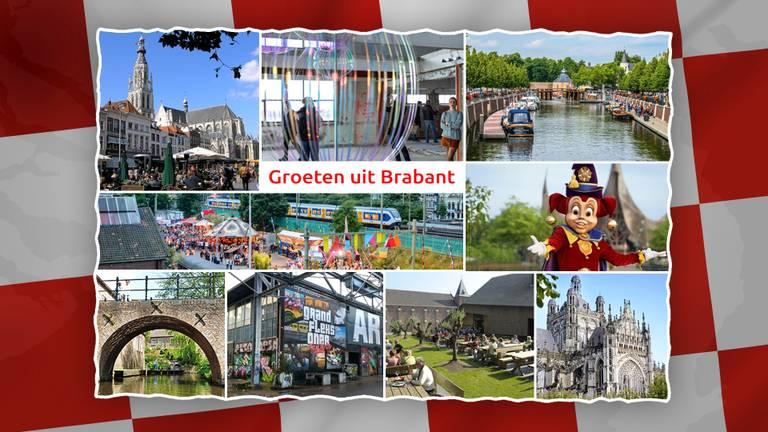 Groeten uit Brabant!