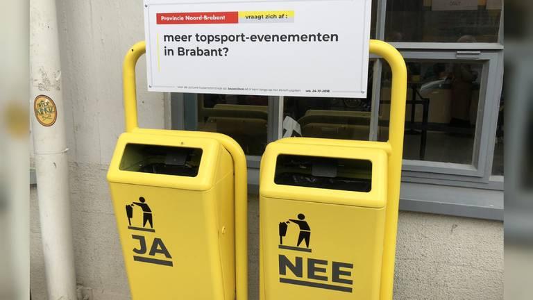 De Bepaalbak. (foto: Stijn Steenbakkers)