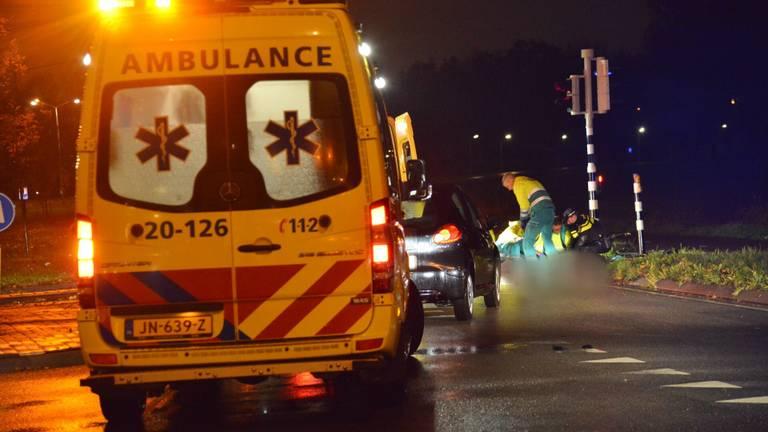 De hulpverlening na het ongeluk mocht niet baten (foto: Perry Roovers/SQ Vision Mediaprodukties).