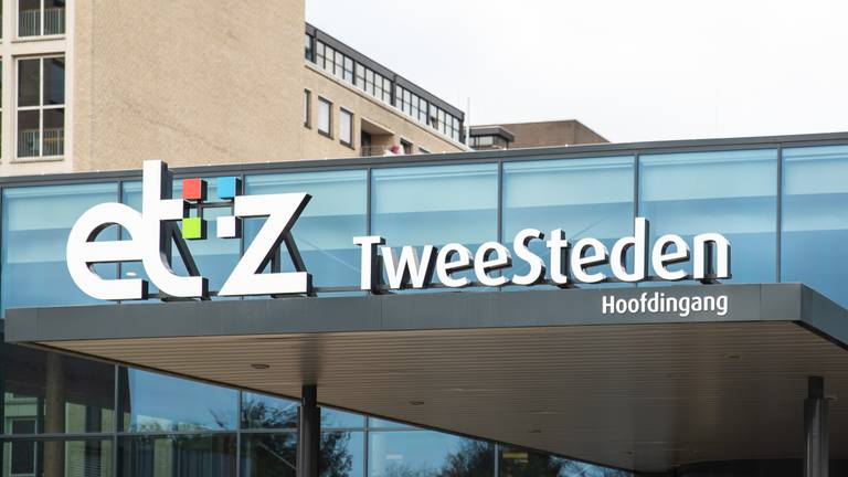Het Elisabeth-TweeSteden Ziekenhuis in Tilburg. (Foto: Kevin Cordewener)