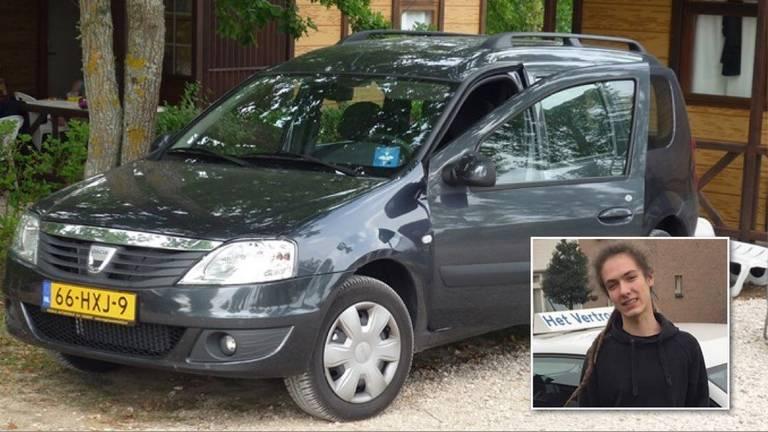 De familie hoopt met het vinden van de auto te kunnen achterhalen hoe Sjors in de Maas terechtkwam (foto: Familie Van Berlo).
