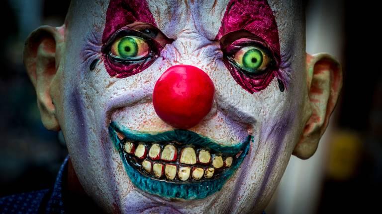 Een horrorclown (Foto: ANP)
