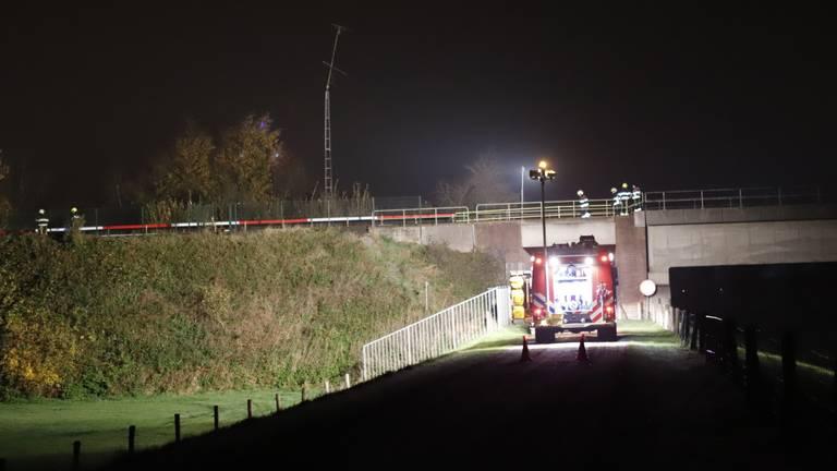 De aanrijding vond plaats bij Katwijk. (Foto: SK-Media)