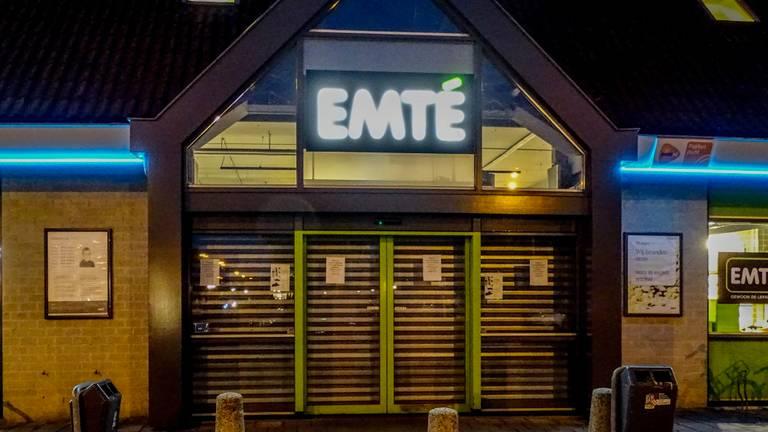 Emté in Uden is dicht door een muizenplaag (Foto: Danny van Schijndel)