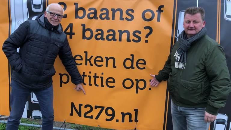 Petitie voor vierbaansweg tussen Asten en Veghel.