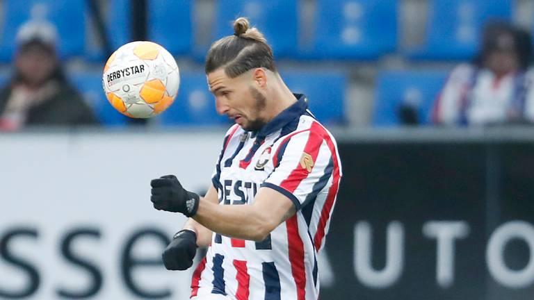 Fran Sol vertrekt bij Willem II. (Foto: VI Images)