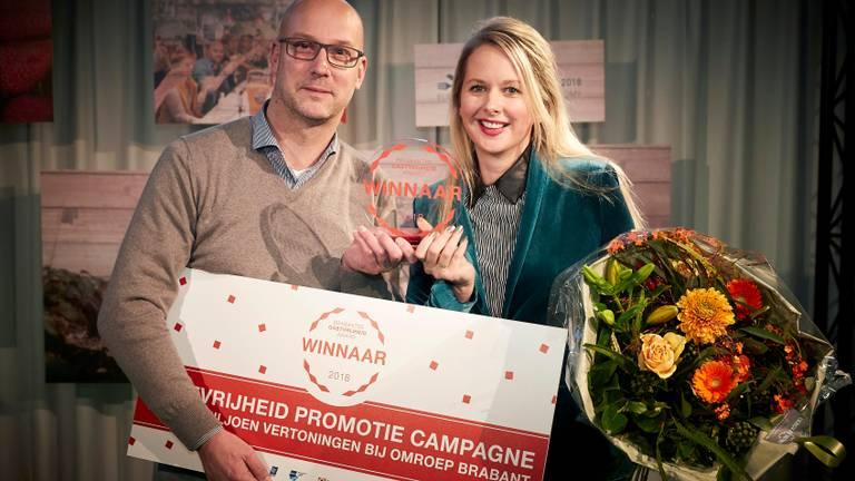 De winnaars van de Brabantse Gastvrijheid Award 2018.
