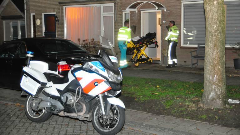Hulpdiensten zijn ter plaatse (Foto: FPMB Foto Persbureau Midden Brabant)
