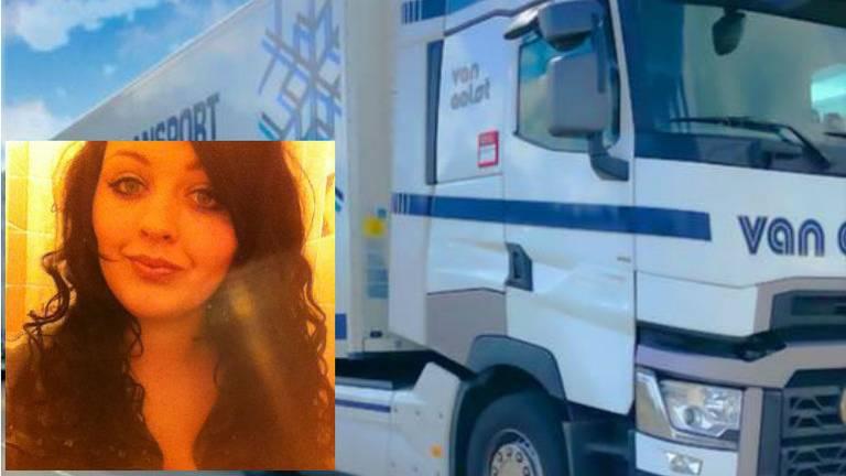 Claudia Nabuurs en haar truck (Foto: Facebook).