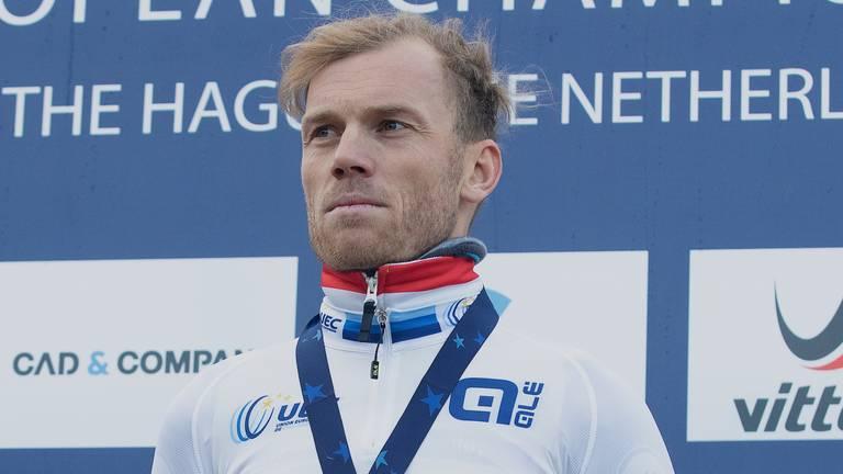 Lars Boom finishte ver voor zijn concurrenten (foto: Orange Pictures).