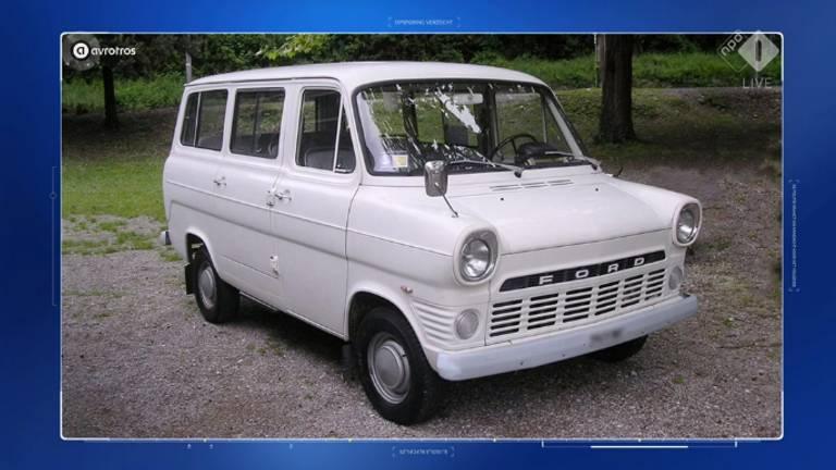 Een witte Ford Transit is mogelijk de sleutel in deze zaak.