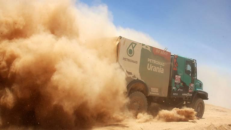 Gerard de Rooy tijdens de Dakar Rally van 2019 (foto: Willy Weyens).