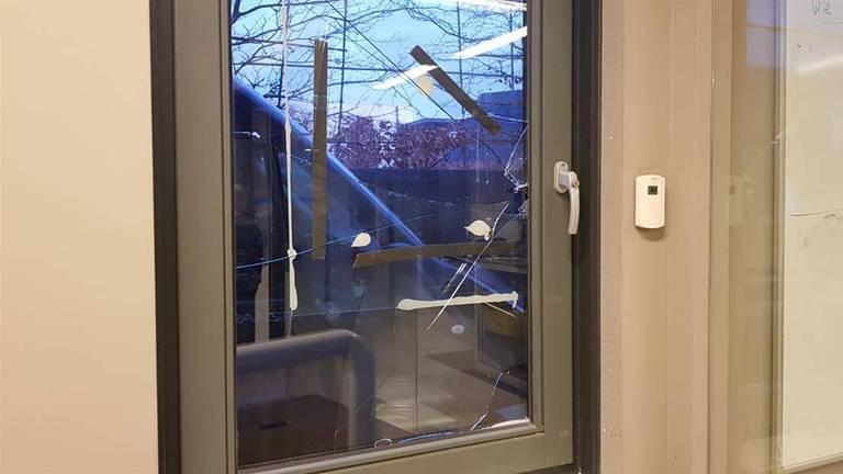 De dieven kwamen via een raam naar binnen (foto: Dtv/MFM Oss)