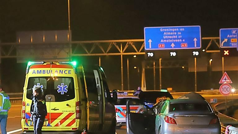 De taxichauffeur veroorzaakte begin januari een dodelijk ongeluk op de A9