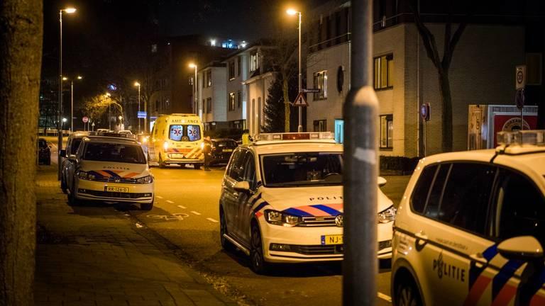 De straat waar de steekpartij plaatsvond (foto: Sem van Rijssel / SQ Vision).