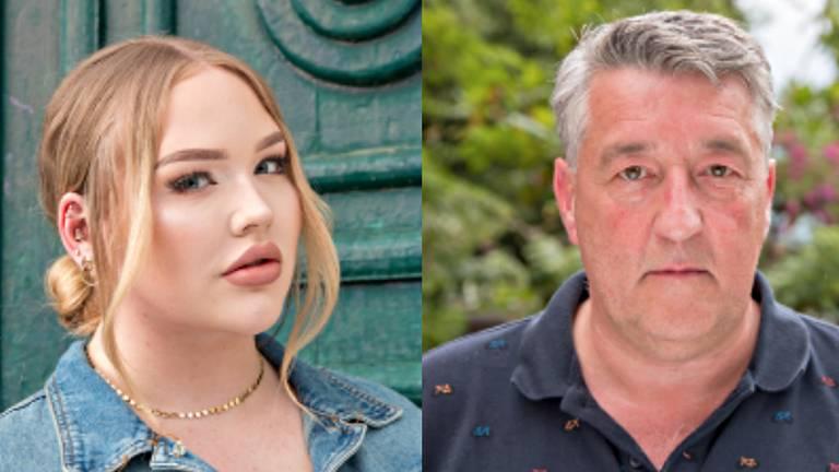 Nikkie de Jager en Robèrt van Beckhoven in Wie is de Mol?
