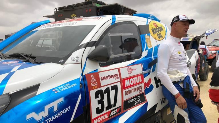 Erik van Loon van start (foto: Twan Spierts).