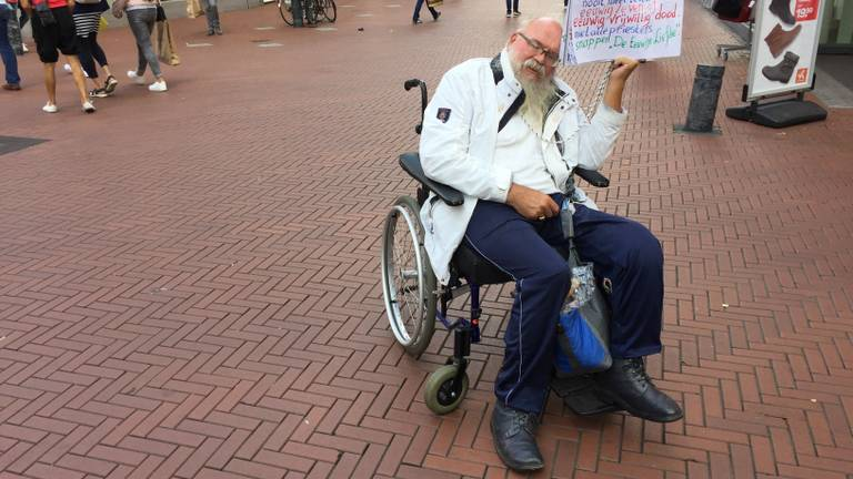 Arnol Kox, zoals veel mensen hem kennen (foto: Hans Janssen).