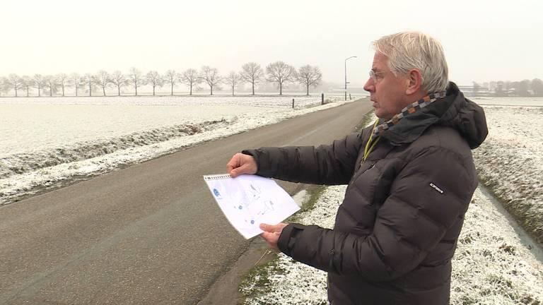 Erik van Heijningen van Kitepower zoekt een testlocatie in West-Brabant (Foto: Erik Peeters)