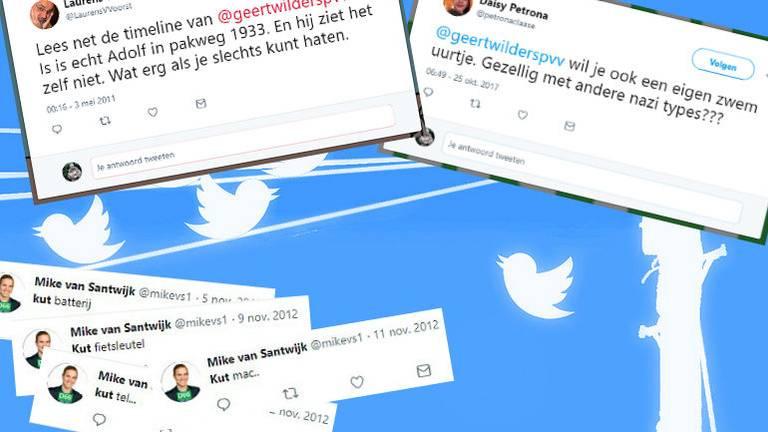 Enkele tweets van Brabantse kandidaten.