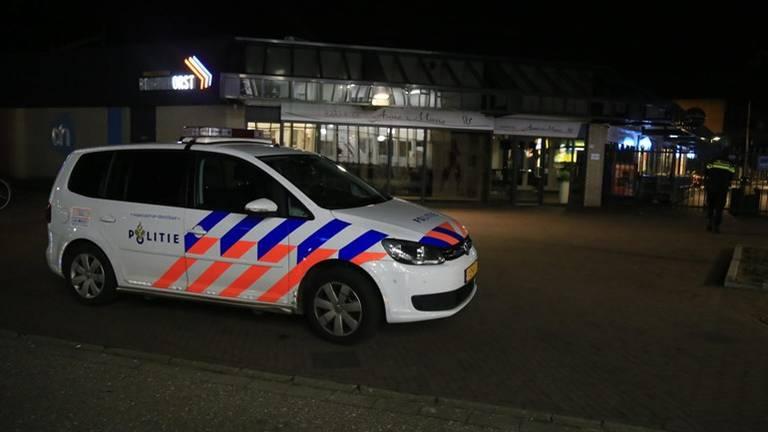 Overval op Albert Heijn in Helmond. (Foto: Harrie Grijseels/SQ Visions)