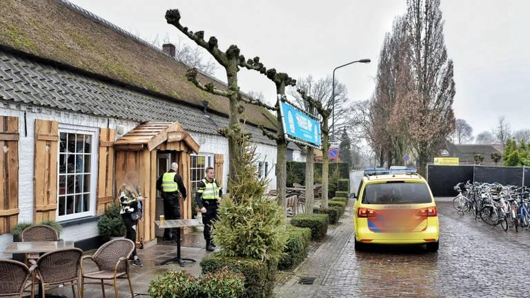 De man werd opgevangen in een café. (Foto: Toby de Kort/ De Kort Media)