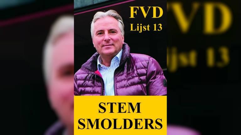 Smolders is lijstduwer voor FvD.