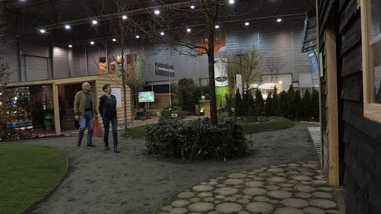 Zo ziet de duurzame tuin van hovenier Sjaak Willemstein er uit.
