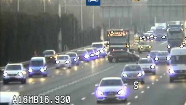 Automobilisten moeten rekening houden met een flinke vertraging (foto: Rijkswaterstaat).