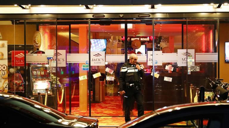 De overval op een casino in Oss leidde naar verdachte serie overvallen in Eindhoven. (Foto:  Charles Mallo / SQ Vision)