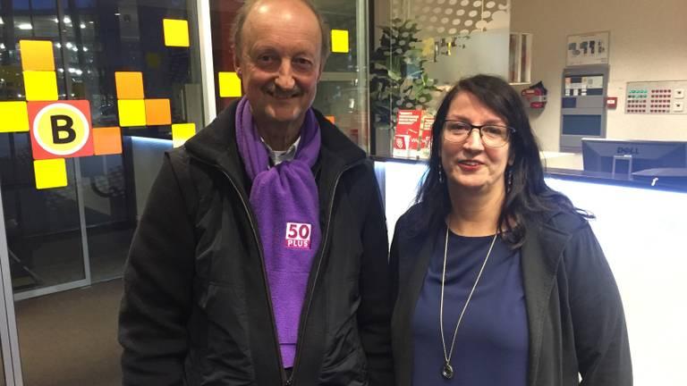 Jan Frans Brouwers en Jolanda van Hulst, Wim van Overveld was al weg voordat de foto genomen werd. (Foto: Hans Janssen)