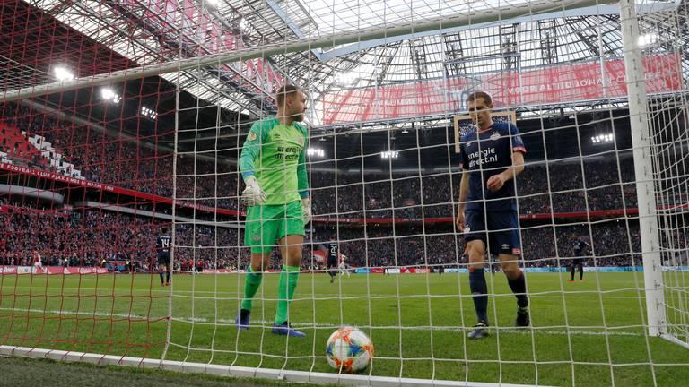 Zoet en Schwaab balen na goal Ajax (foto: VI Images).