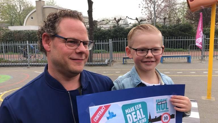 Kinderen vragen ouders veiliger te rijden