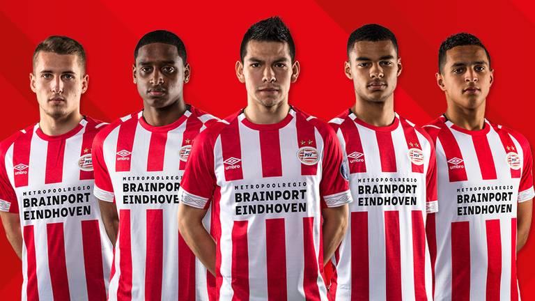 Het nieuwe shirt van PSV (foto: PSV)