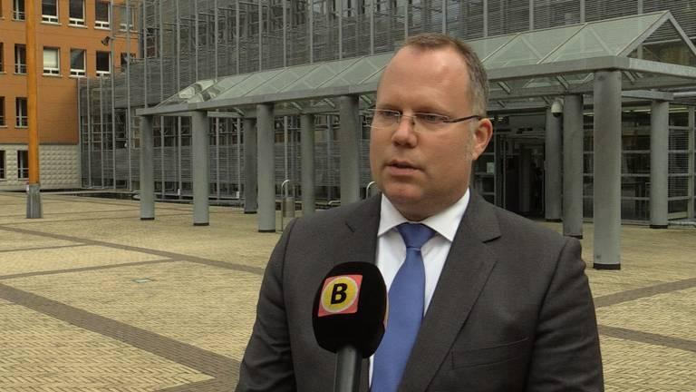 Victor van Wulfen voor de rechtbank in Den Bosch. Foto: archief