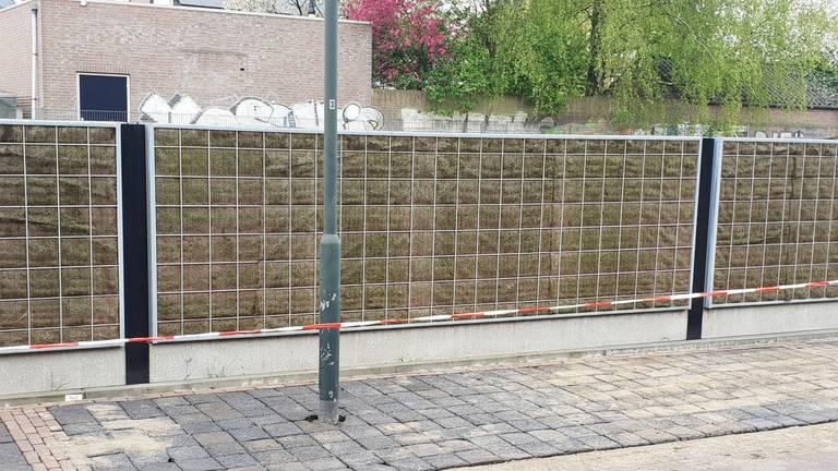 Daar staat 'ie dan, voor paal? (Foto: Ton Wasmus via gemeente Oisterwijk)