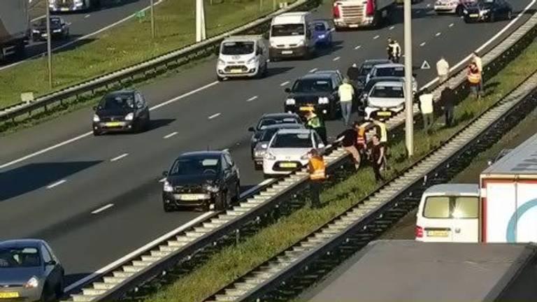 Foto: Twitter Rijkswaterstaat, @rws verkeersinfo