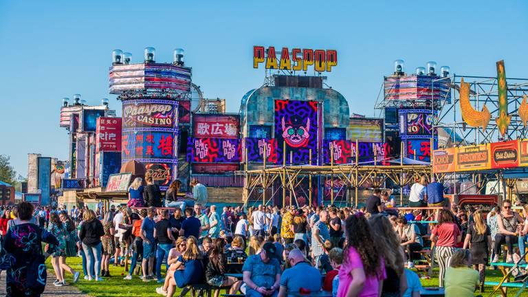 Het festivalterrein van Paaspop in 2019 (foto: Gert-Jan Kusters)