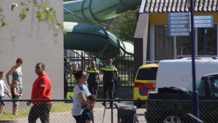 Het jongetje zwom bij Vakantiepark Droomgaard. (Foto: Erik Haverhals/FPMB)