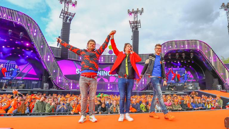 Snollebollekes bij 538 Koningsdag in 2019 (foto: Tom Swinkels/FeestZoom).